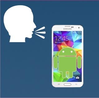 Ovládání mobilu hlasem