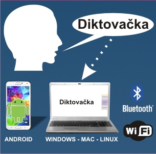 Diktovačka - Android a PC